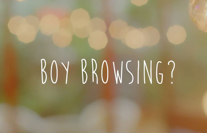 Stay Calm & Boy Browse!