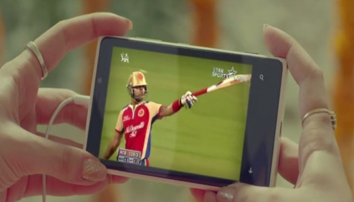 Starsports.com IPL commercial