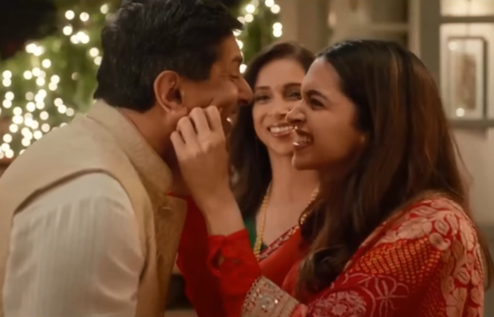 Deepika Padukone loves Diwali for the Tanishq gift