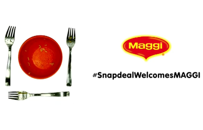 Snapdeal Welcomes Maggi