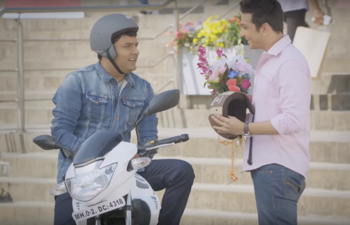 TVS Tyres Date with Kapil Sharma