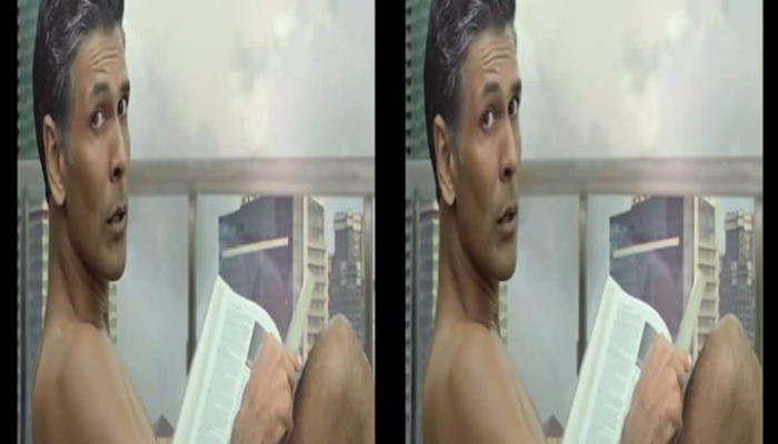 In the Tub with Milind Soman